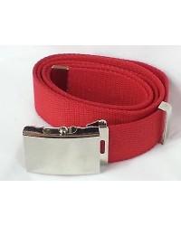 Cintura in canapa rossa
