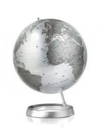 Atmosphere mappamondo silver