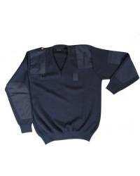 Maglione operativo blu
